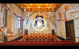 Sacristía mayor y sala capitular del padre Rupnik - Museo de la Catedral de la Almudena