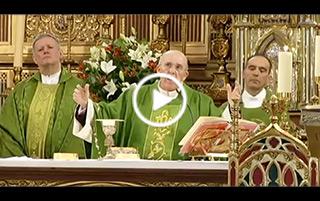 El cardenal Osoro preside una Eucaristía en recuerdo de las víctimas de accidentes de tráfico