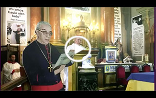 Homenaje al cardenal Vicente Enrique y Tarancón en la madrileña iglesia de San Antón
