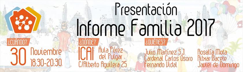 Presentación. Informe Familia 2017