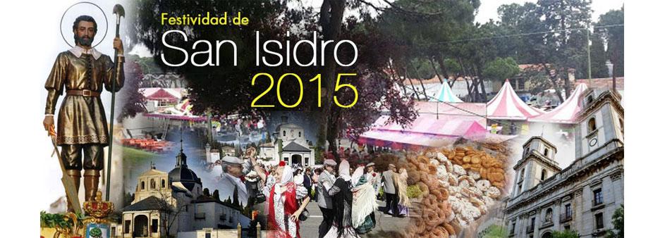 Imágen de Cabecera - Festividad San Isidro 2015 madrid
