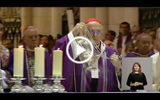 Misa por Mons. Javier Echevarría en la catedral de la Almudena