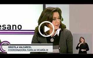 Entrevista con motivo de la Jornada de la Sagrada Familia en la catedral de la Almudena