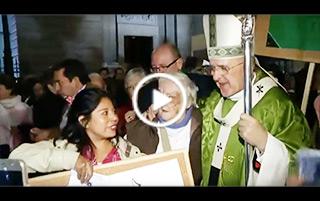 El cardenal Osoro preside una Misa por la I Jornada Mundial de los Pobres