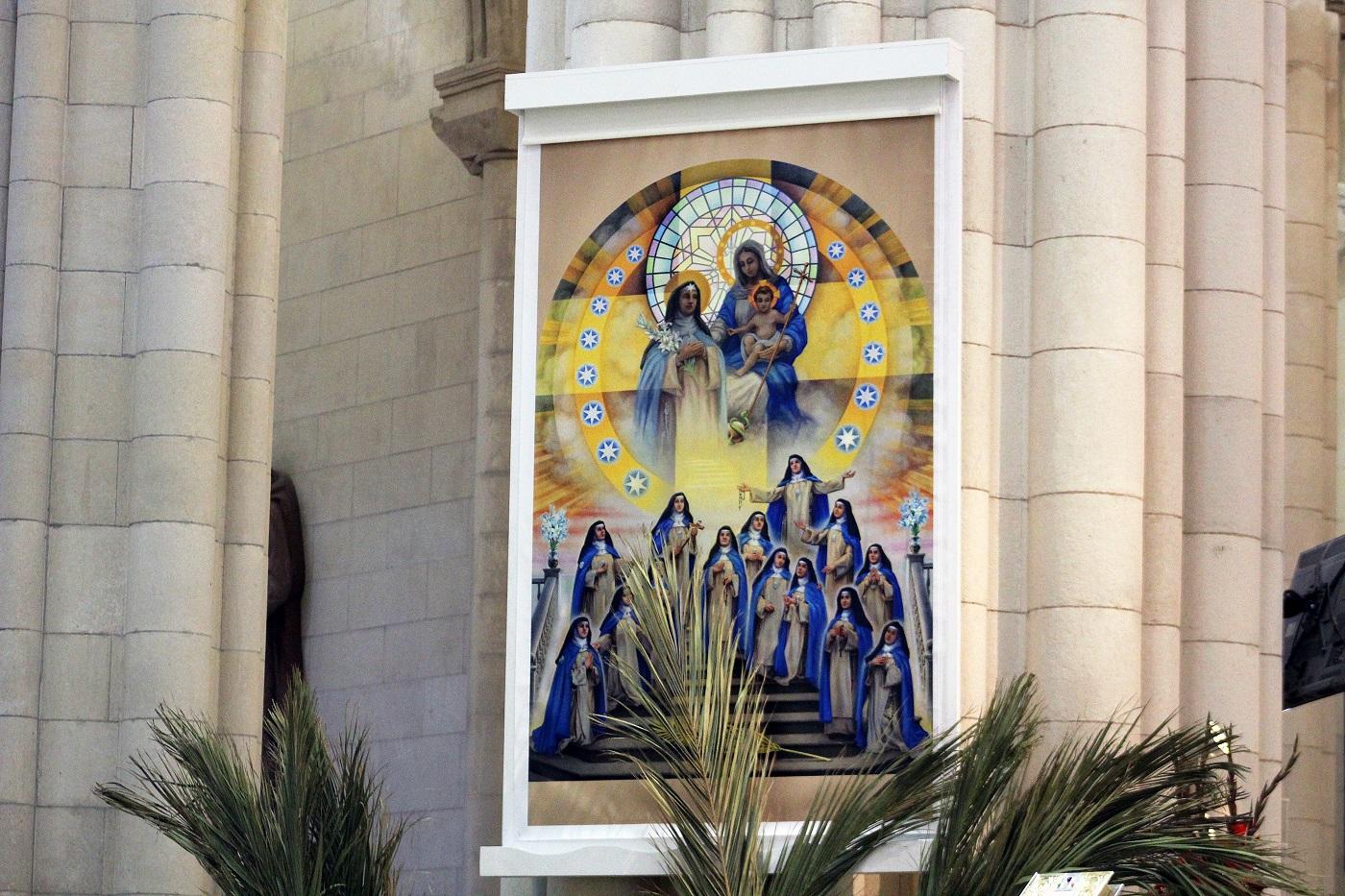 beatificaciones concepcionistas tapiz