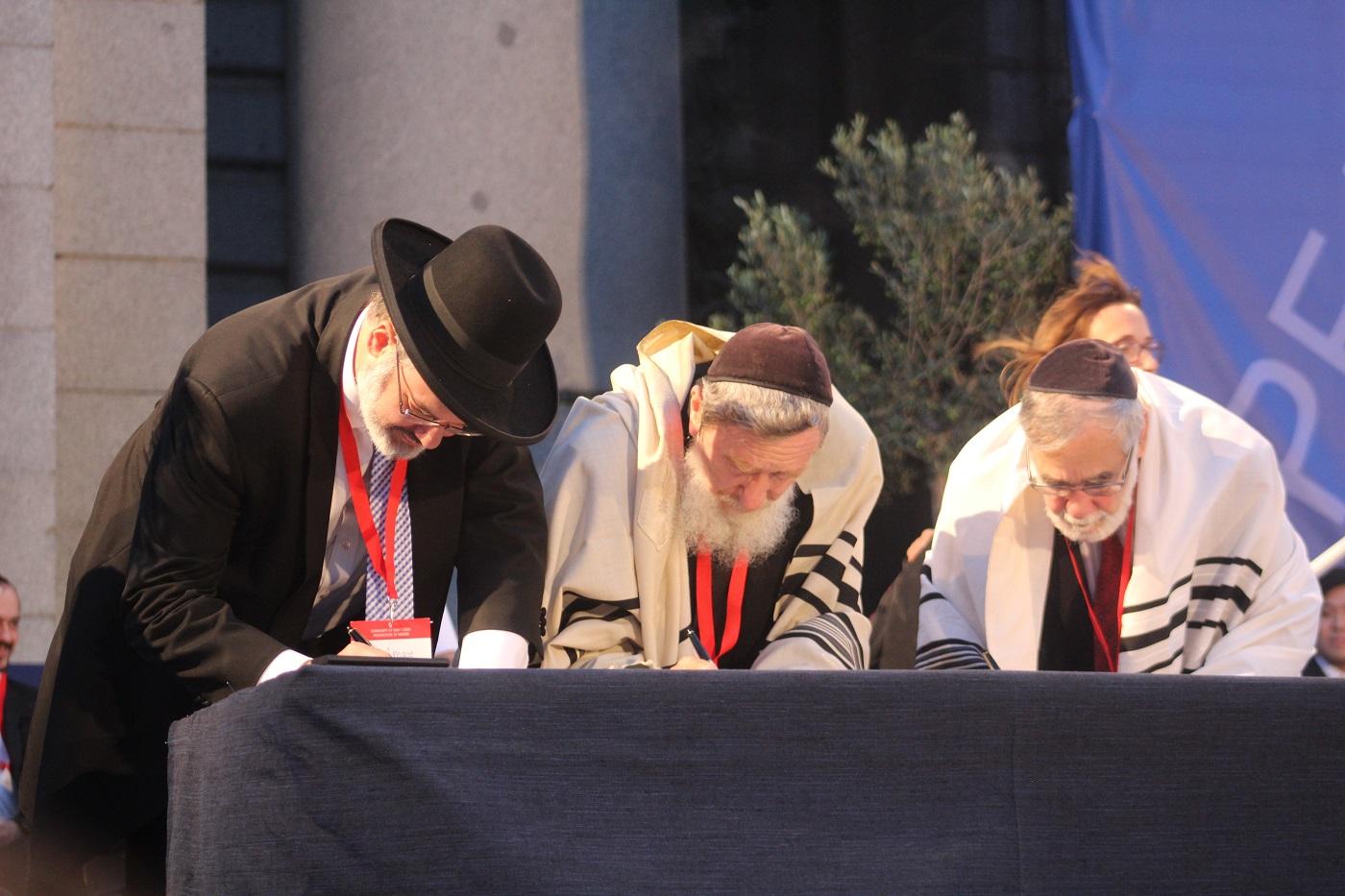 clausura paz sin fronteras firma