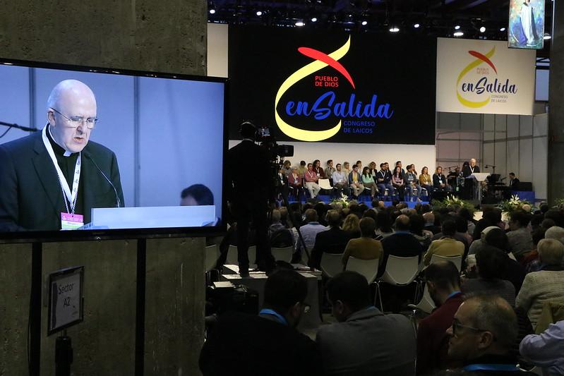 inauguracion congreso laicos cardenal carlos osoro