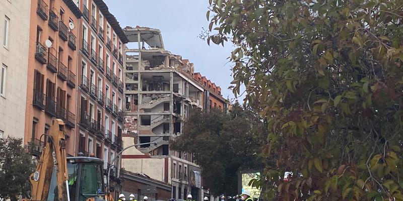 Explosión en La Paloma