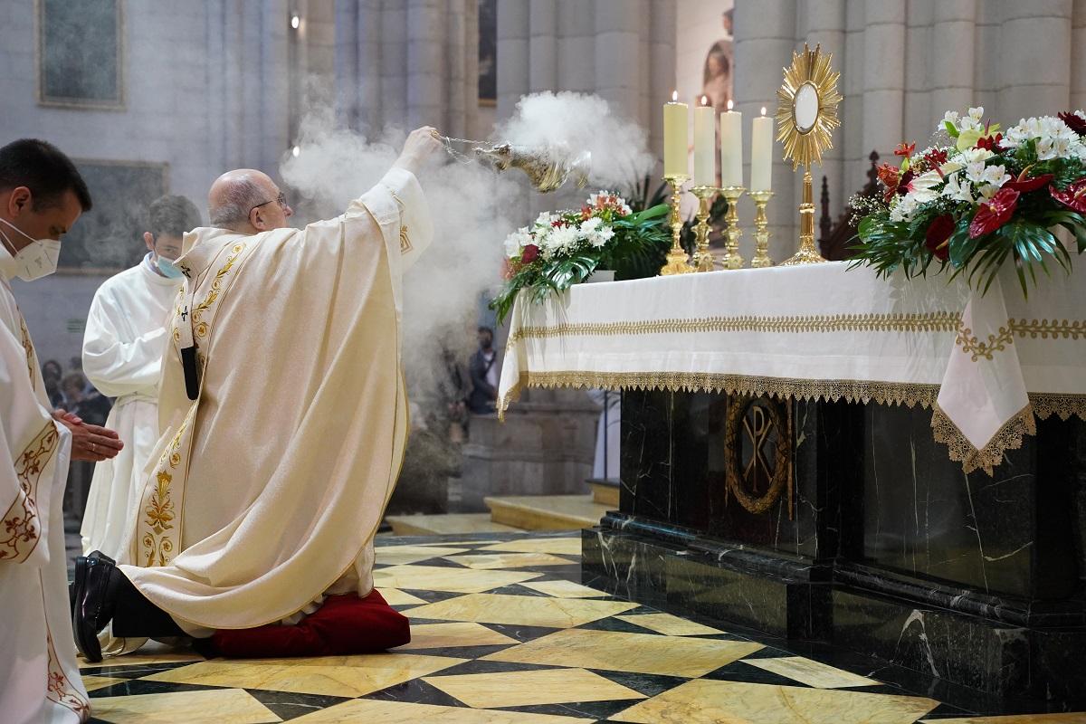 corpus 2021 osoro santisimo altar mayor
