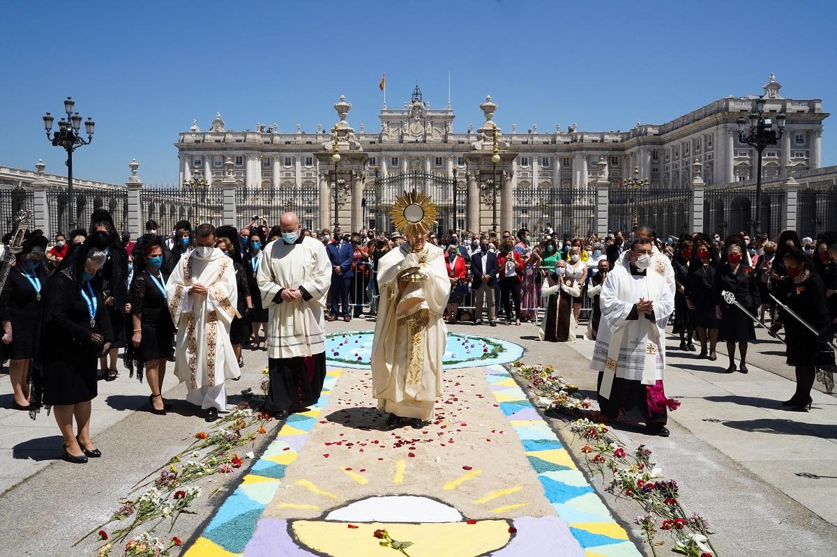 corpus 2021 osoro santisimo palacio real