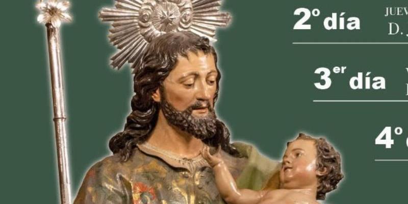 San José prepara con una novena la fiesta de su titular en el marco del Año Jubilar Josefino