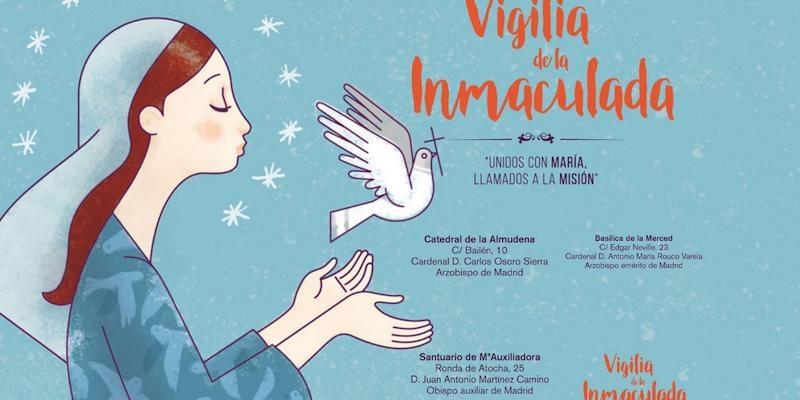 Vigilias de la Inmaculada en Madrid