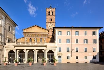 Santa María in Trastevere, la iglesia del cardenal Osoro en Roma