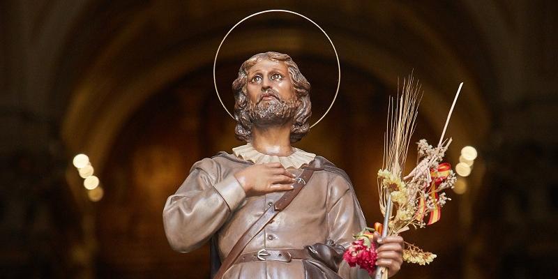 Madrid celebra la fiesta de san Isidro Labrador con un amplio programa de cultos adaptados a la pandemia