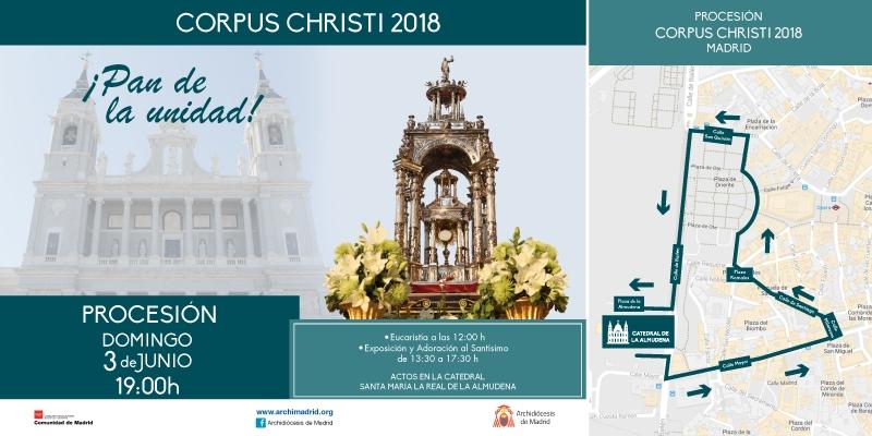 El Santísimo recorrerá las calles de Madrid el 3 de junio