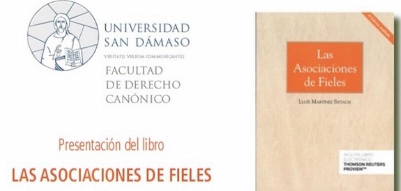 El cardenal Sistach presenta su libro 'Las Asociaciones de Fieles' en la Universidad San Dámaso
