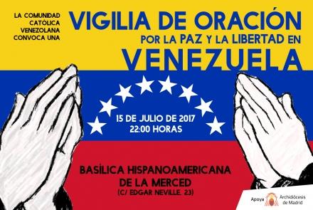 La basílica Hispanoamericana de la Merced acogerá una vigilia de oración por la paz y la libertad en Venezuela