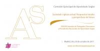 Las XXXVIII Jornadas de delegados diocesanos y presidentes nacionales de Apostolado Seglar se celebrarán en Madrid