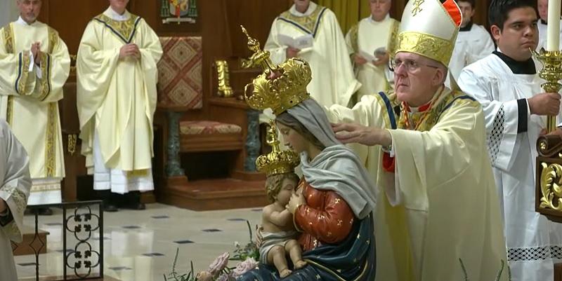 Cardenal Osoro en el 150 aniversario de San Agustín: «Esta Iglesia no olvida que nació de la misión ni que está para la misión»