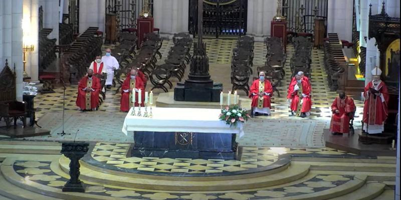 Cardenal Osoro en la fiesta de Santiago y Jornada Mundial de los Abuelos: «El Señor nos invita a echar las redes»