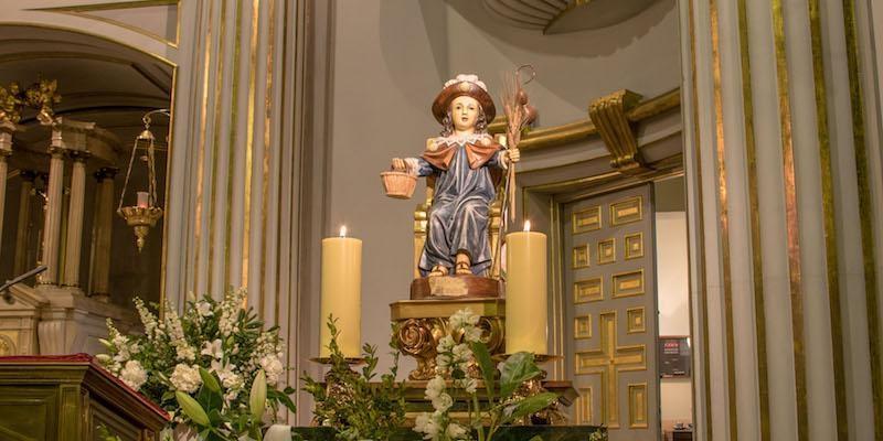 Nuestra Señora de Atocha celebra este sábado la fiesta del Santo Niño de Atocha