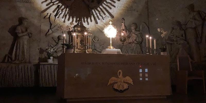 San Manuel González de San Sebastián de los Reyes inaugura en la festividad del Pilar la capilla de la adoración perpetua