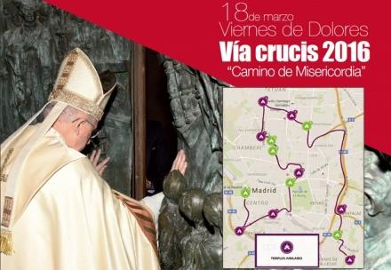 'Camino de Misericordia', lema del vía crucis diocesano que se celebrará el Viernes de Dolores