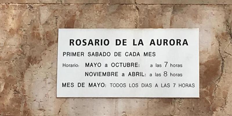 La Real Esclavitud invita a rezar el rosario en la Cuesta de la Vega todos los días del mes de mayo
