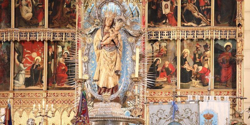El cardenal Osoro preside la solemne Eucaristía de la festividad de la Real Esclavitud de Santa María la Real de la Almudena