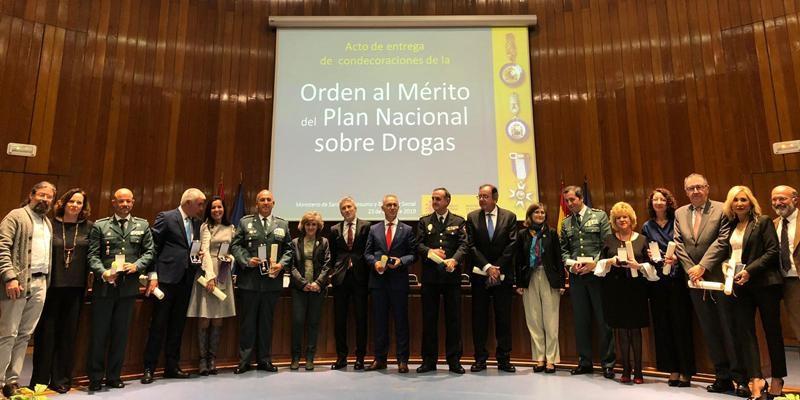 El Ministerio de Sanidad reconoce la labor del padre Agustín Rodríguez en Cañada Real