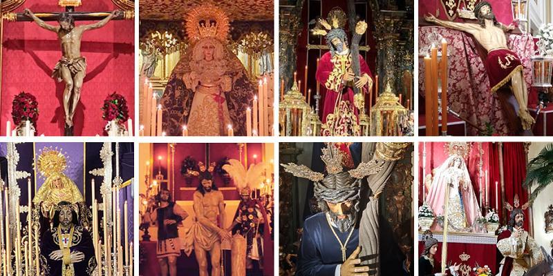 Un recorrido por las imágenes de Semana Santa de Madrid