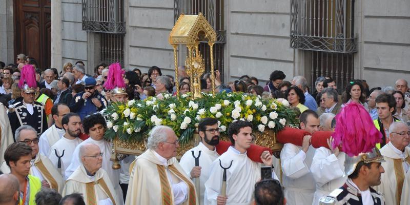 Corpus en Madrid