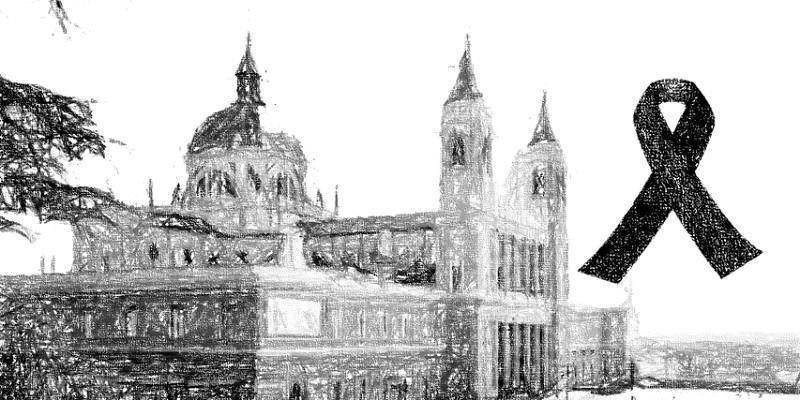 La catedral acoge una Misa funeral por las víctimas de la pandemia organizada por la CEE