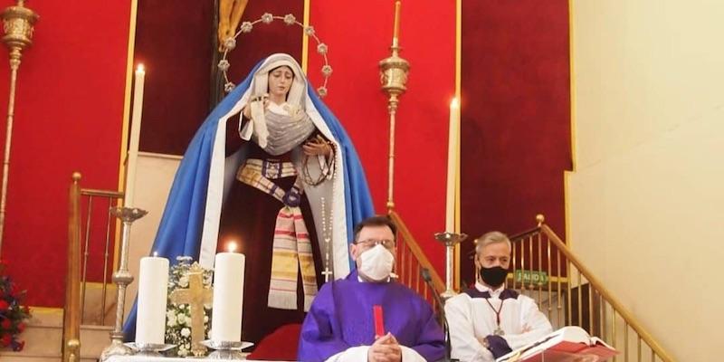 Jesús Junquera preside la función principal de la Hermandad del Silencio