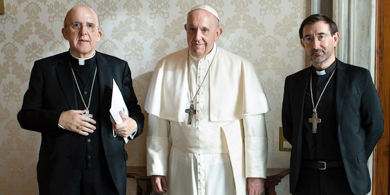 El cardenal Osoro presenta al Papa las conclusiones de la primera fase de la investigación sobre fundaciones